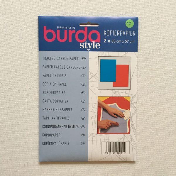 Radeerpapier Kopierpapier Burda Blauw Rood