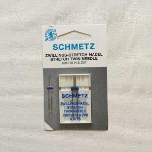 Schmetz Tweelingnaald 4 mm