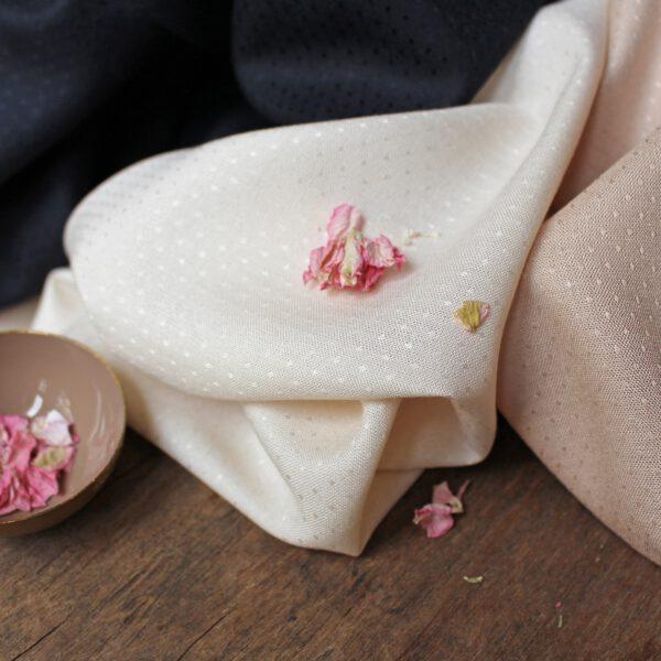Atelier Brunette Stof Dobby Off-White