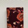 Tricot-aubergine-bloem