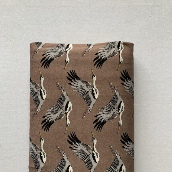 Tricot-bruin-kraanvogels