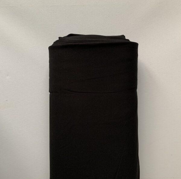 Sweatstof Viscose Zwart
