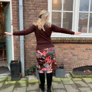 Sew Easypakket Margo: strakke rok