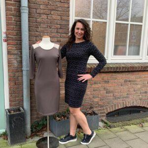 Patroon tricot jurk Anna