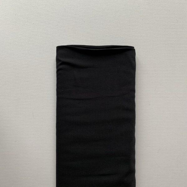 Viscose Soepeltje Zwart