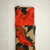 Viscose Retro Oranje Bloem